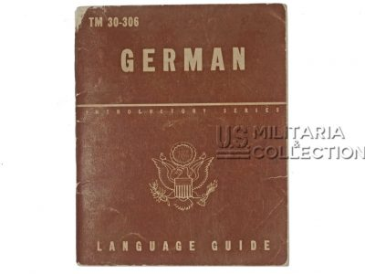 Livret German Language Guide, 1943