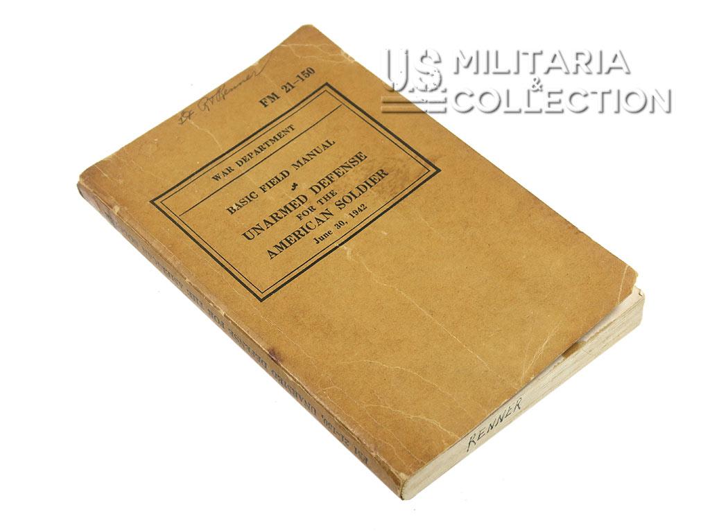 Manuel de défense sans arme, FM 21-150