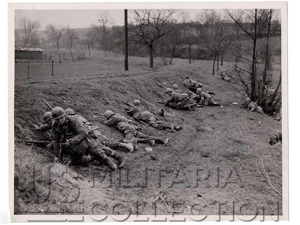 Photo originale 2e Division d'infanterie