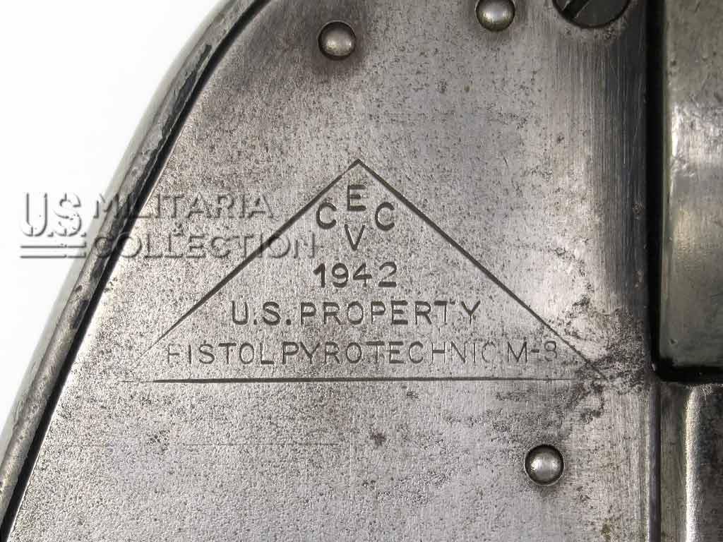 Pistolet lance-fusées US M8 daté 1942