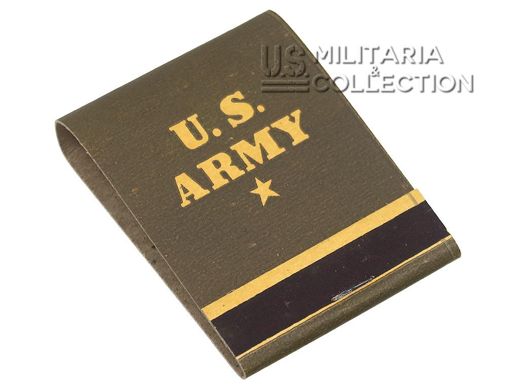 Pochette allumettes US Army, Neuve de stock