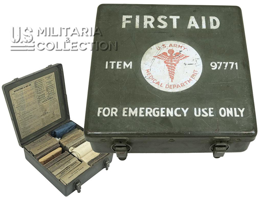 Boite premiers secours 24 unit