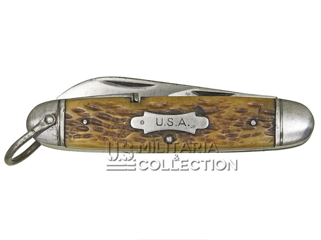 Couteau utilitaire US Army Camillus, 4 lames