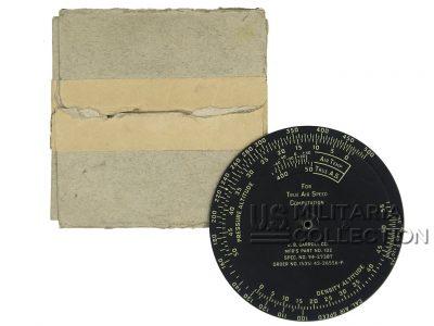 Règle calcul Type D-4, USAAF