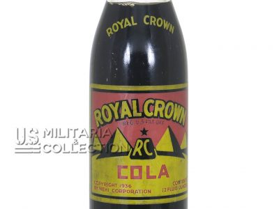 Royal Crown Cola, bouteille US