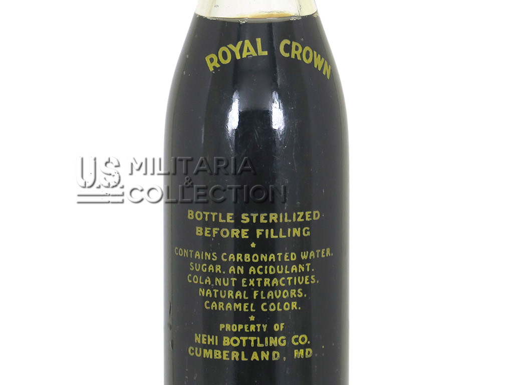 Royal Crown Cola, bouteille US