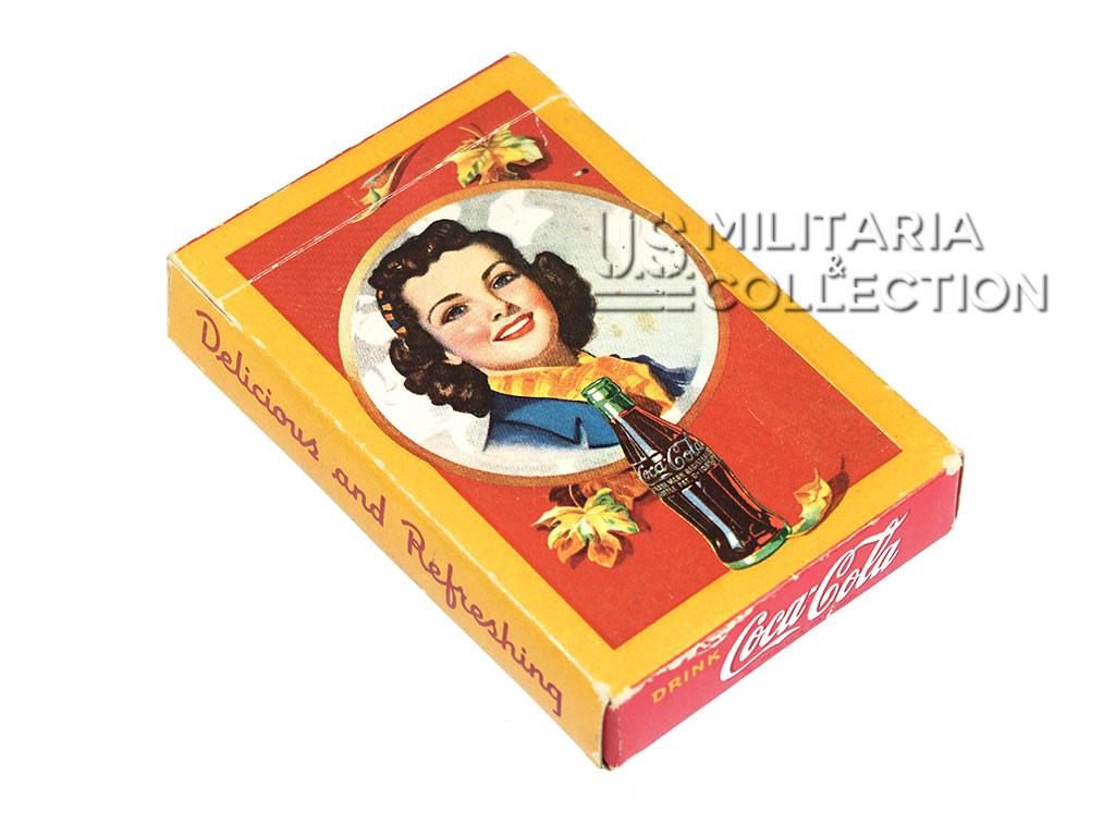 Cartes à jouer Coca Cola, 1943