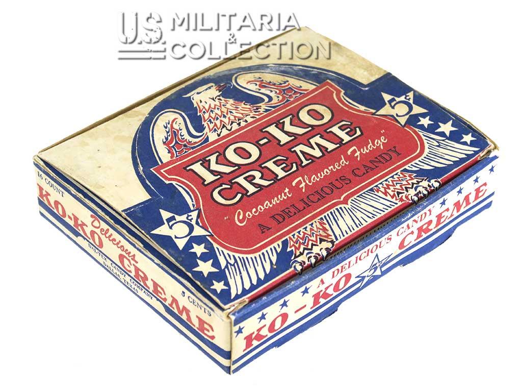 Ko-Ko Creme Candy, boite présentoir