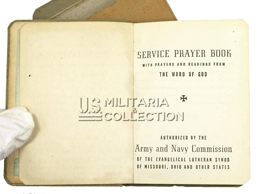 Livret de prières US Army, US Navy, 1941.