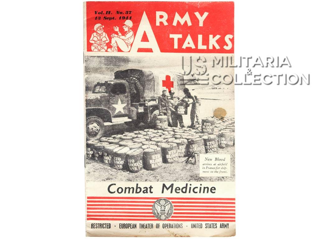 Magazine Army Talks, Combat Medicine