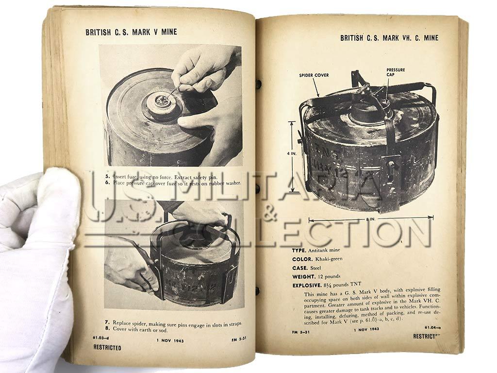 Manuel Technique FM 5-31, Land Mines and Body Traps