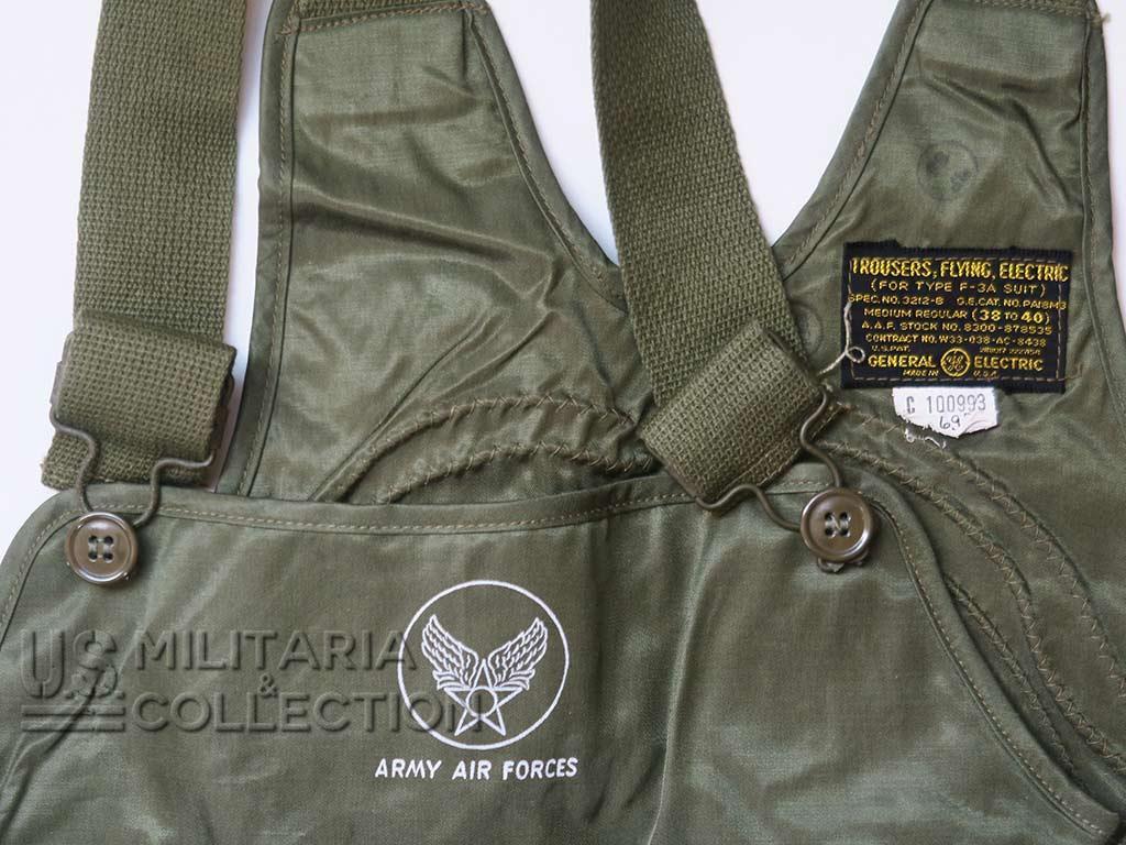 Pantalon de vol F-3A, équipage de bombardier.