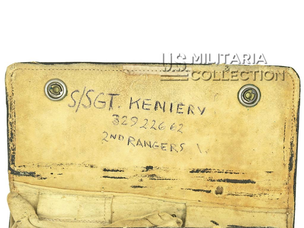 Pochette, 2nd Ranger Battalion, Sgt Kienery