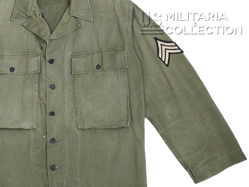 Veste combat US Army HBT, HerrigBone Twill, M-1943
