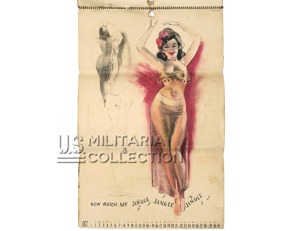 Calendrier Pin Up Fort Lewis, 1944, MacPherson