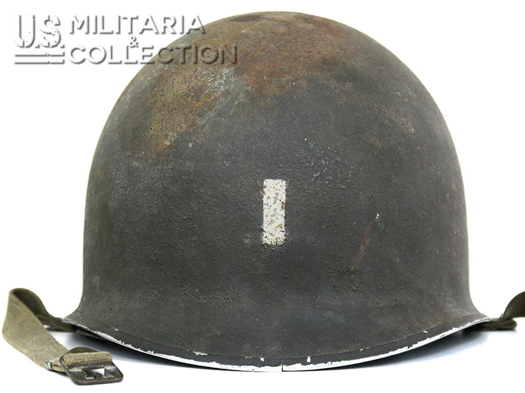 Casque M1 First Lieutnant, Opération Torch.