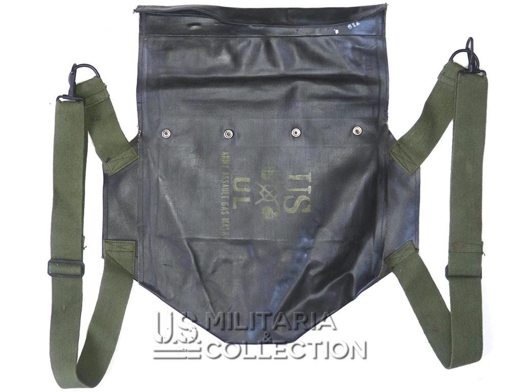 Housse M7 caoutchoutée étanche pour masque anti-gaz d'assaut M5