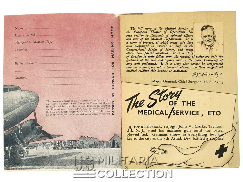 Livret historique, US Army Medical Corps, ETO