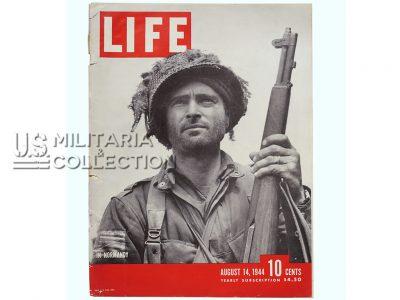 Magazine Life, 14 août 1944, pour encadrement