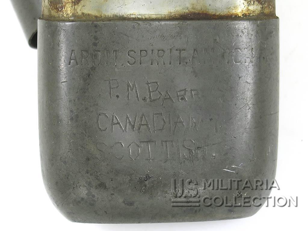 Flasque Canadian Scottish Regiment, Normandie