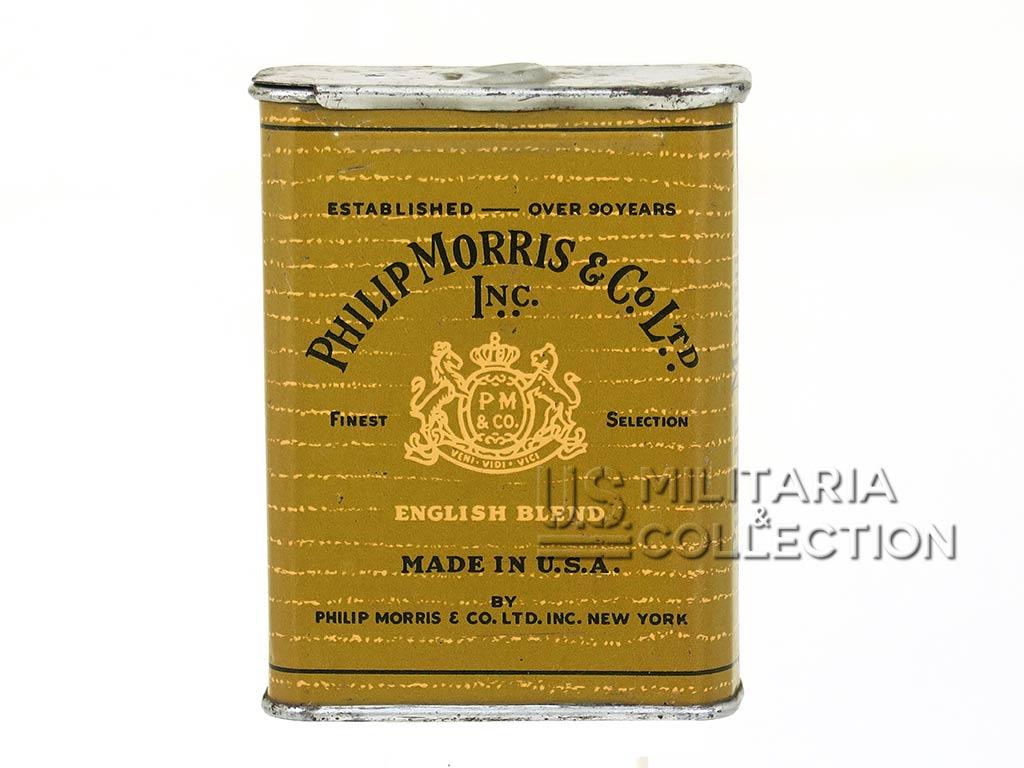 Boite de cigarettes, Philip Morris WWII