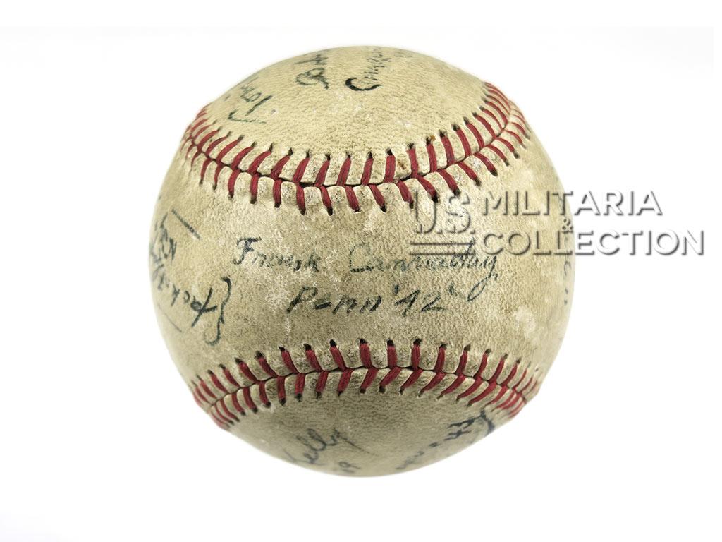 Balle de baseball autographiée 1942 USMC