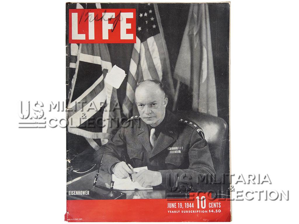 Magazine Life du débarquement, photos de Robert Capa