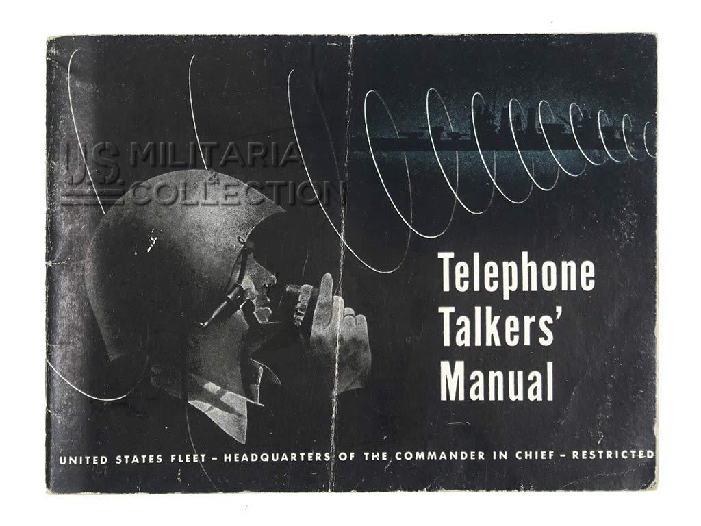 Manuel Telephone Talker's, pour casque Mk 2