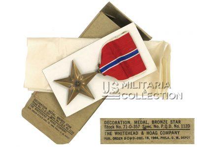 Médaille Bronze Star, 1944