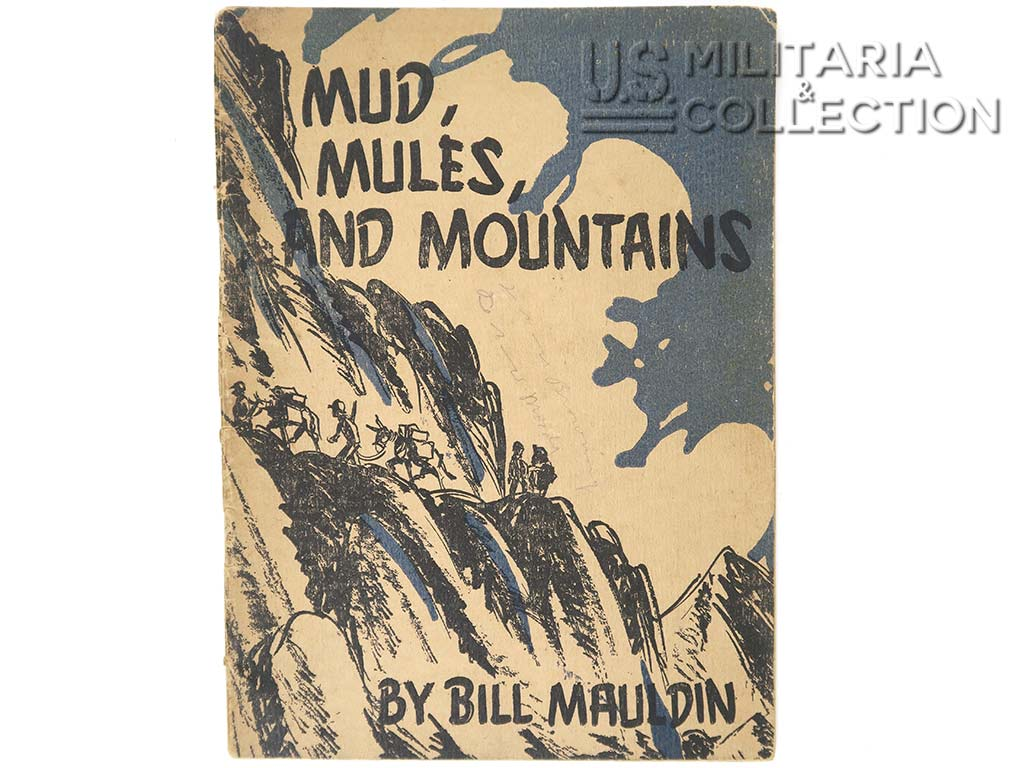 Mud Mules and Mountains, livret 1944