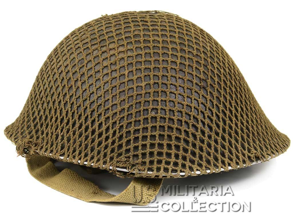 Casque MKIII précoce 1942, Troupes canadiennes, Normandie.