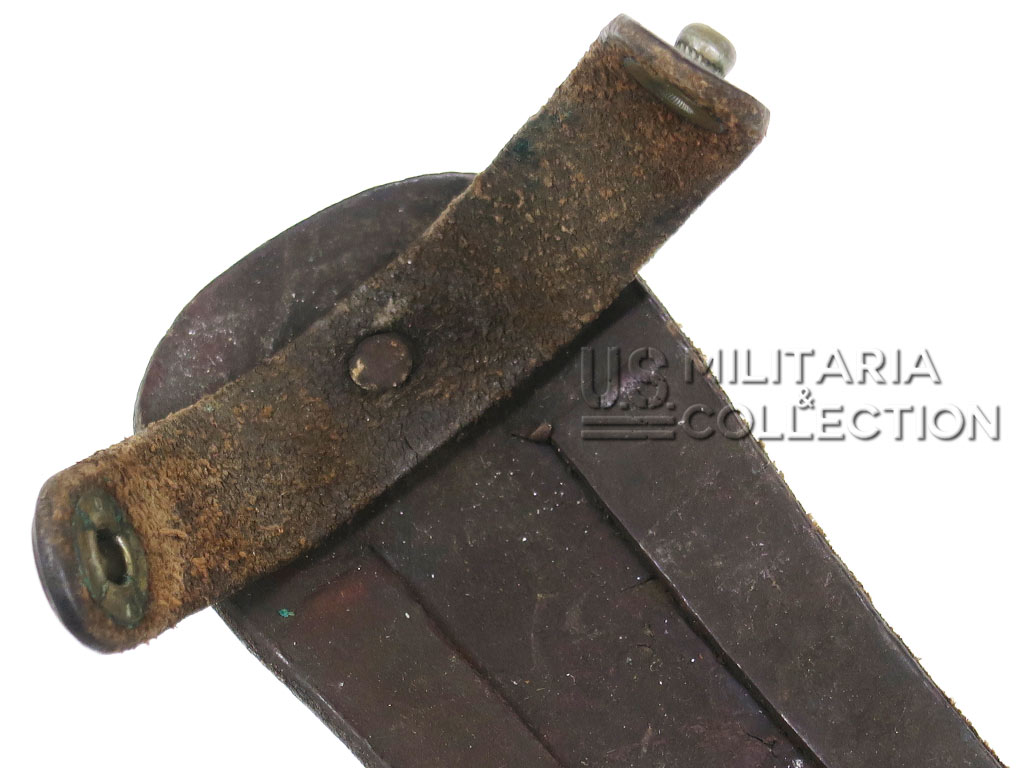 Couteau US de combat EGW, manche bois