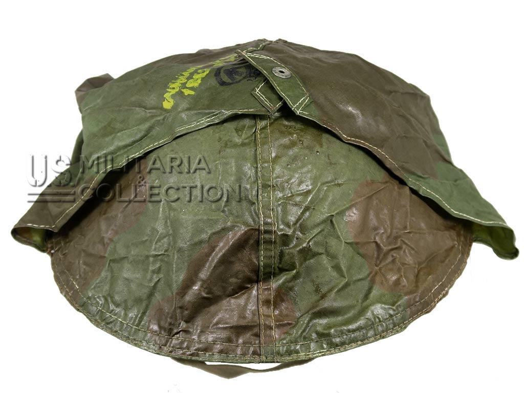 Couvre-casque anti-gaz camouflé