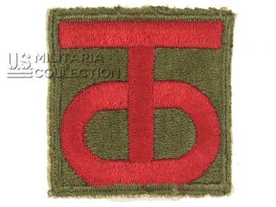 nsigne 90th Infantry Division US
