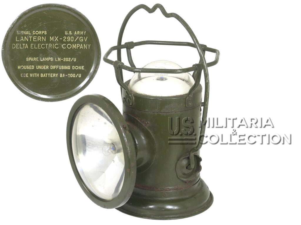 Lampe US Army Type MX-290