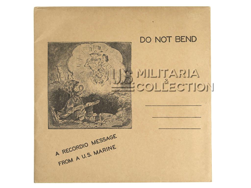 Disque USMC Special Services, Recordio Disc