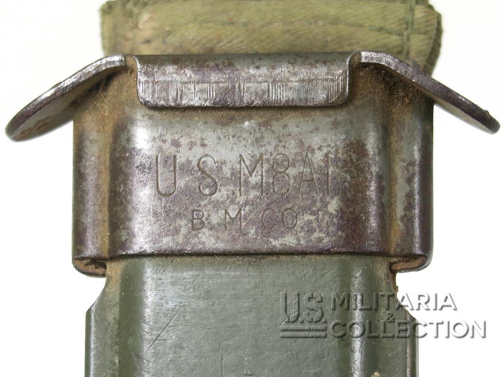 Fourreau bakélite US M8A1, pour pièces
