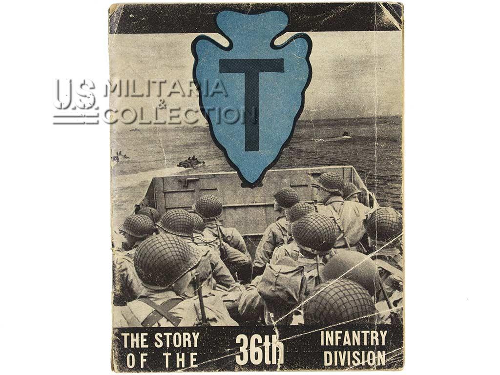 Livret, 36th Infantry Division + Insigne