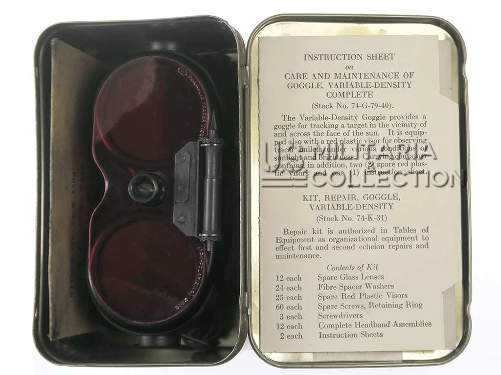 Lunettes Polaroid à densité variable, 1944