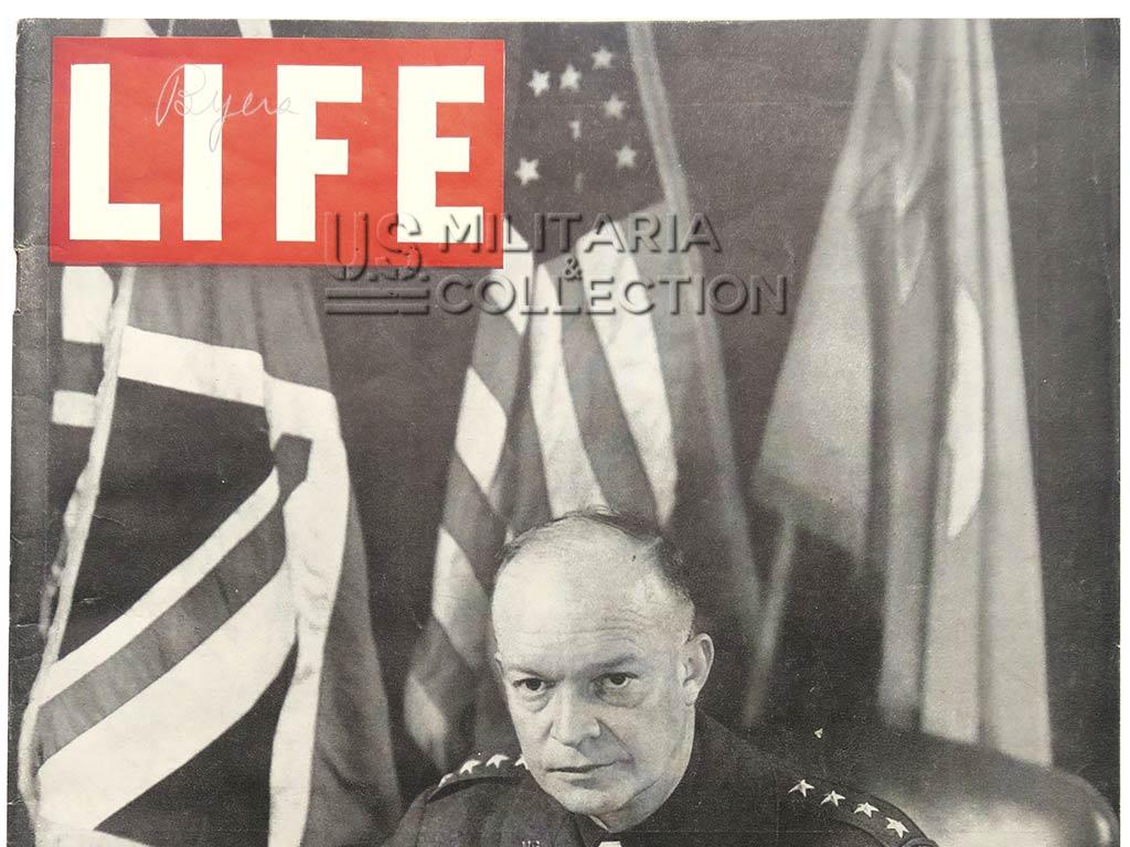 Magazine Life photos du débarquement, Robert Capa