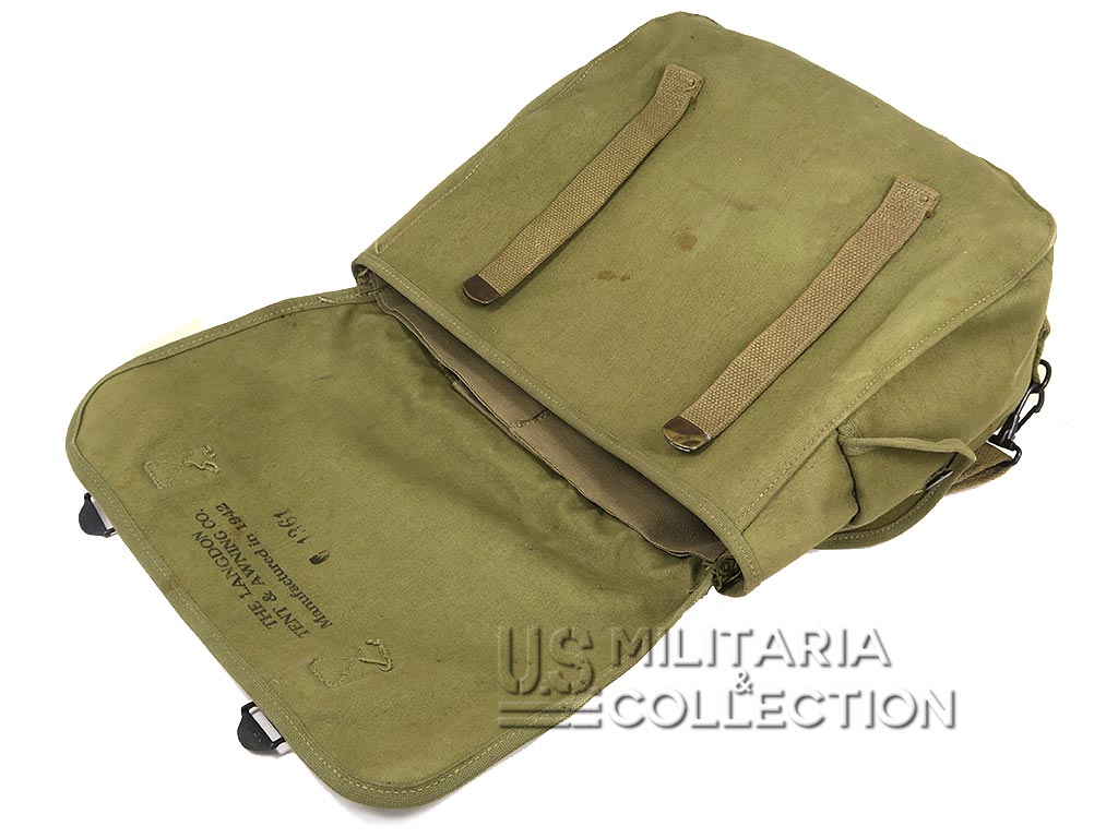 Musette M-1936 Caoutchoutée 1942 & Laundry