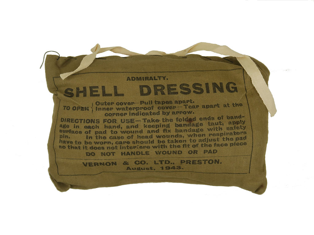 Pansement britannique Shell Dressing