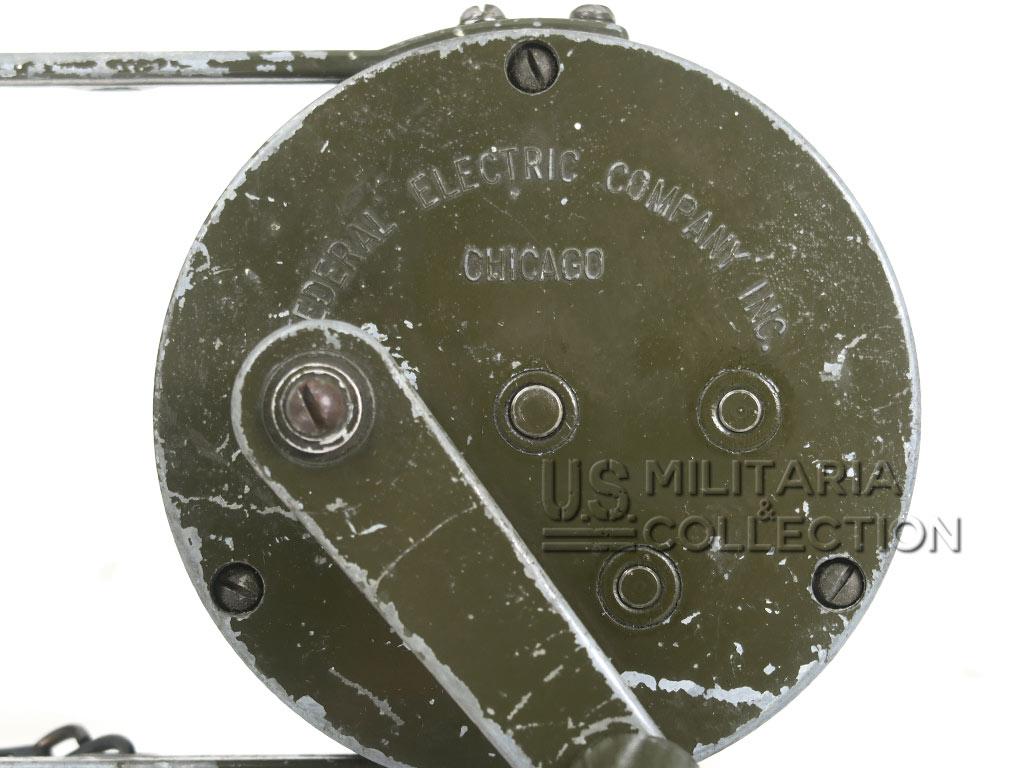 Sirène Raid Aérien US Army