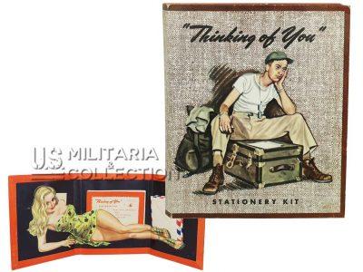 Stationery kit Serviceman Pin-Up