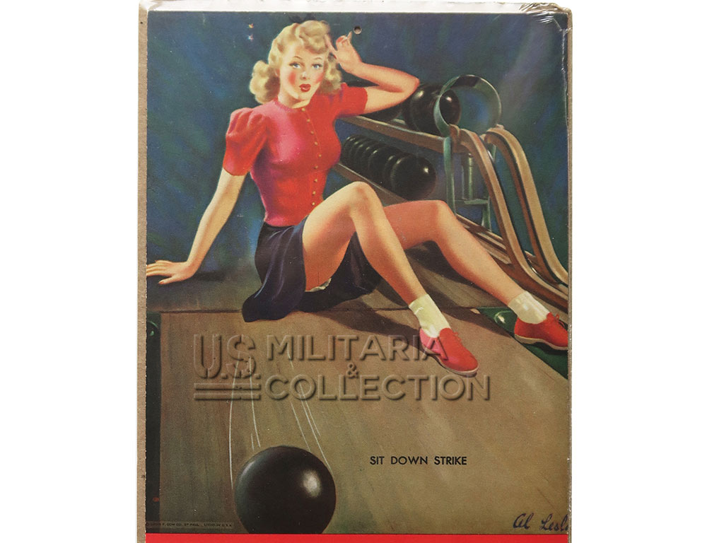 Calendrier US 1943 Pin-up, Al Buell