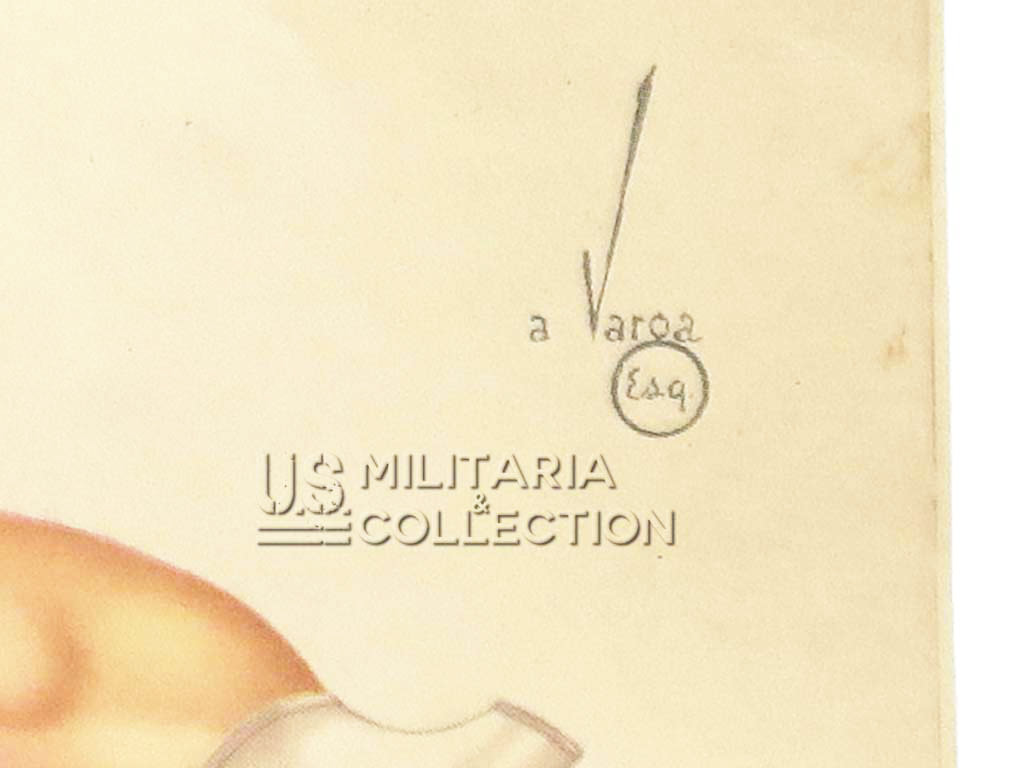 Calendrier US Pin Up 1944, Varga
