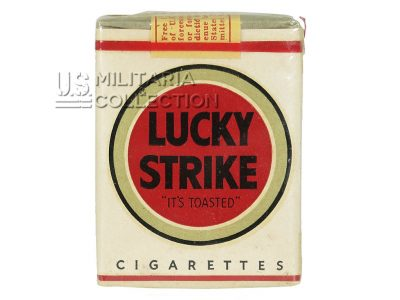 Cigarettes Lucky Strike, US Army