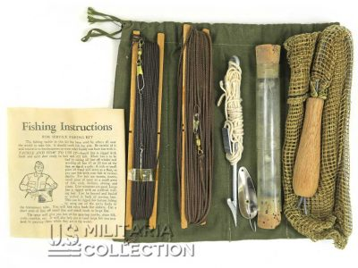 Kit de pêche US Army Special Service