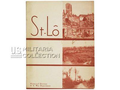 Saint-Lô, US War Department, édition originale