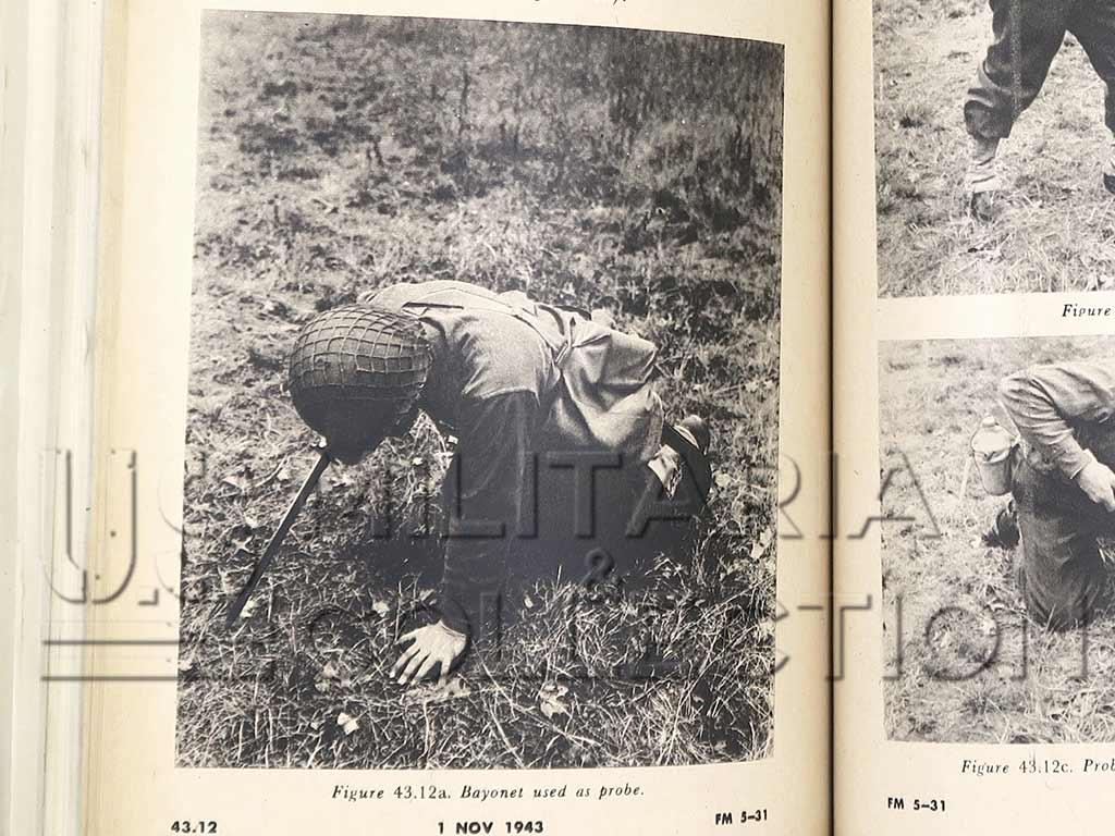 Sonde à Mines M1, Sonde de déminage US M1